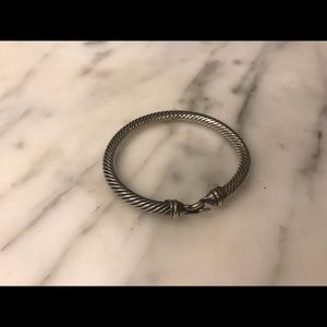 Authentic David Yurman classic buckle bracelet